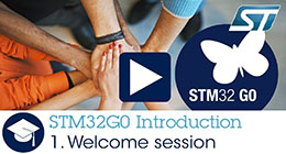 STM32G0 - Welcome