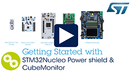 Getting started with STM32 Nucleo Power shield