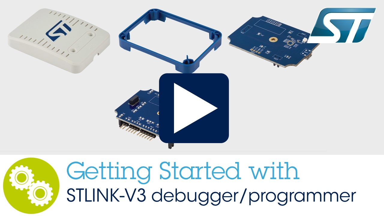 Getting started with STLINK-V3 debugger/programmer