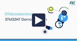 From ARM TechCon 2016 – STM32H7 demonstration
