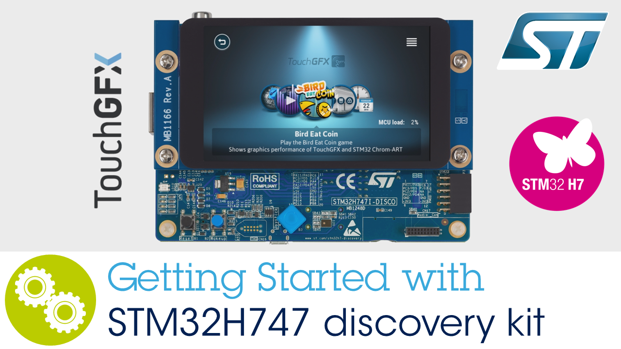 Getting started with STM32H747 Discovery Kit