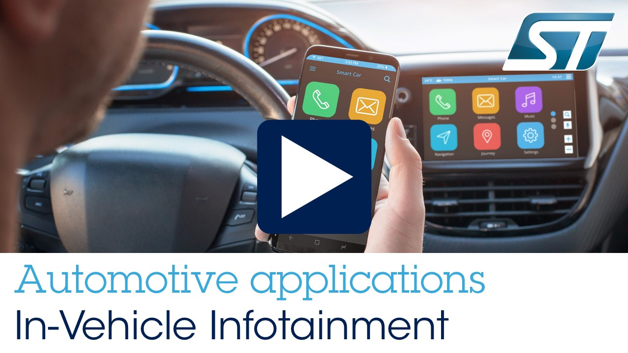 Automotive Applications - In-Vehicle Infotainment (IVI)