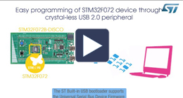 Getting started with STM32 built-in USB DFU Bootloader