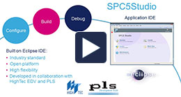 SPC5 Studio integrated development environment