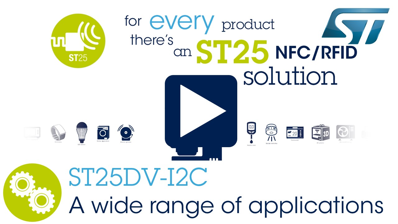 X-NUCLEO-NFC04A1 - Dynamic NFC/RFID tag IC expansion board based on
