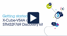 <h1>Getting started with XCUBE VS4A and STM32F769 discovery kit (Alexa Voice Service)</h1>   <h1> </h1>   <p> </p>