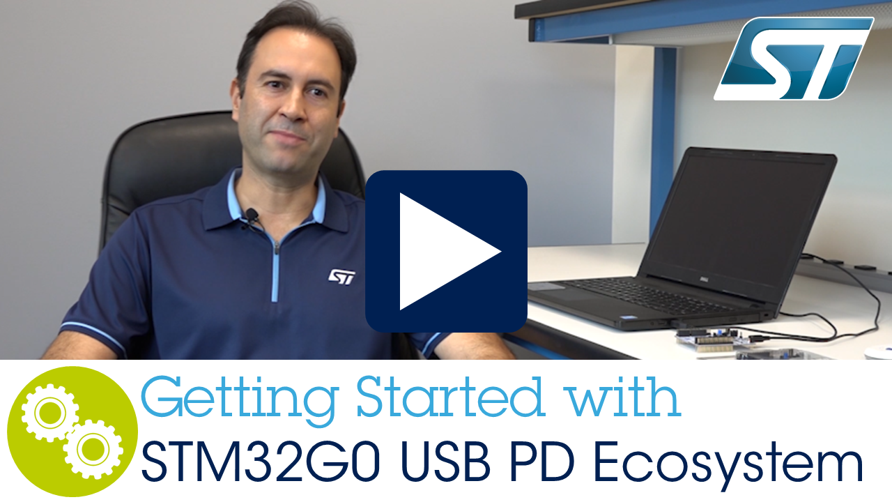 Getting started with USB type-C and STM32G0 ecosystem