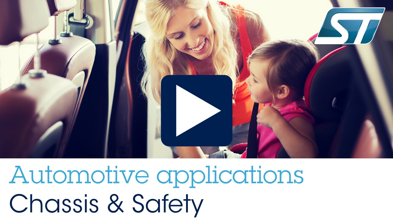 Automotive Applications - Chassis and Safety