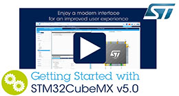 Getting started with STM32CubeMX v5.0