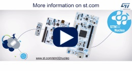 NUCLEO-F401RE - STM32 Nucleo-64 development board with STM32F401RE