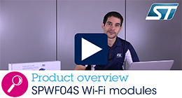 Hands-on training on SPWF04S Wi-Fi modules