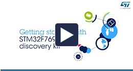 Getting started with STM32F769NI discovery kit