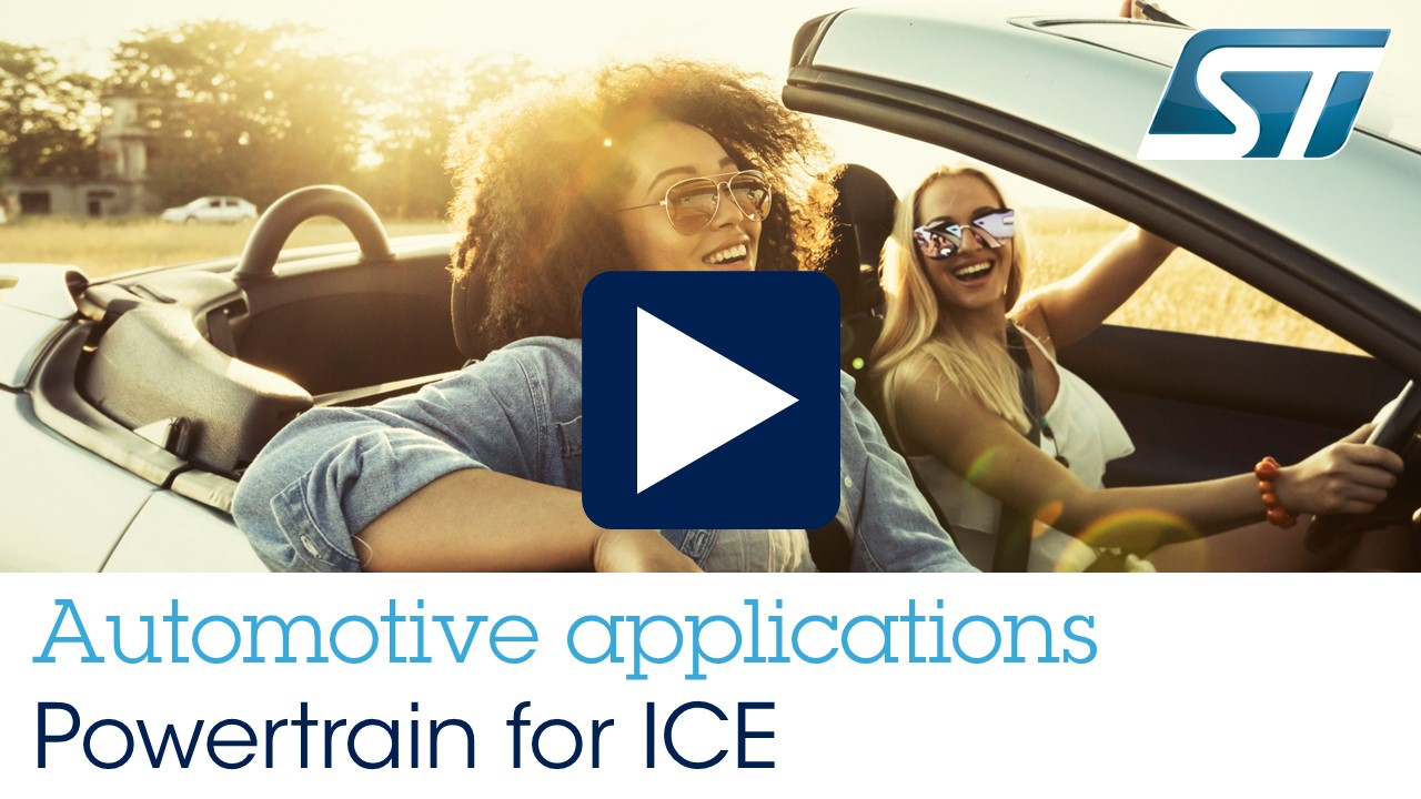 Automotive Applications - Powertrain for ICE