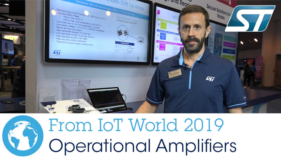 IoT World 2019: Operational Amplifiers