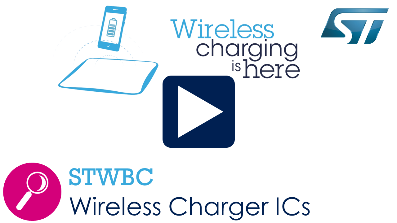 ST enables wireless fast charging