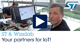 ST and Wizzilab your partners for IoT!
