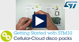 How to get started with STM32 Cellular to Cloud discovery packs (P-L496G-CELL01, P-L496G-CELL02)