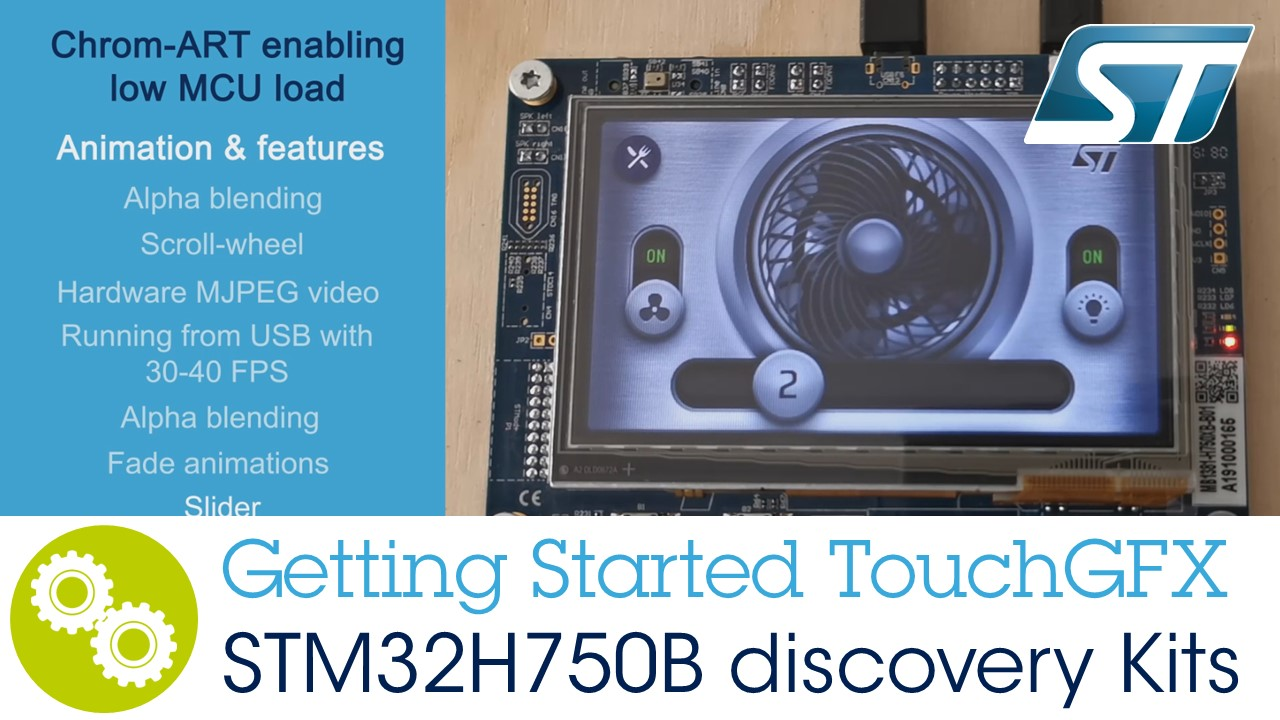 STM32 Graphical User Interface (GUI) - Graphics-enabled MCUs