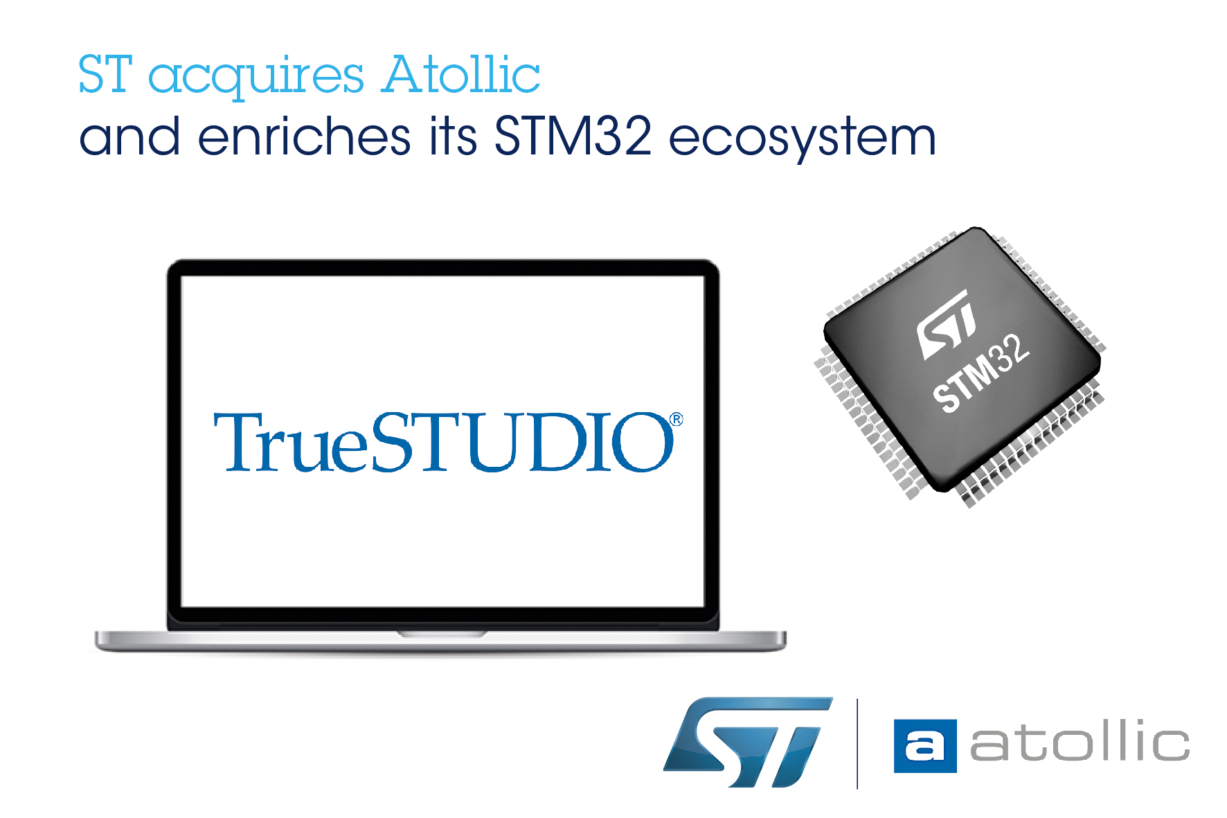 Stmicroelectronics Acquires Atollic An Embedded Systems Company Introduction To The World Of Microcontrollers Pic Engineering Integrated Development Environments For Arm Core Based