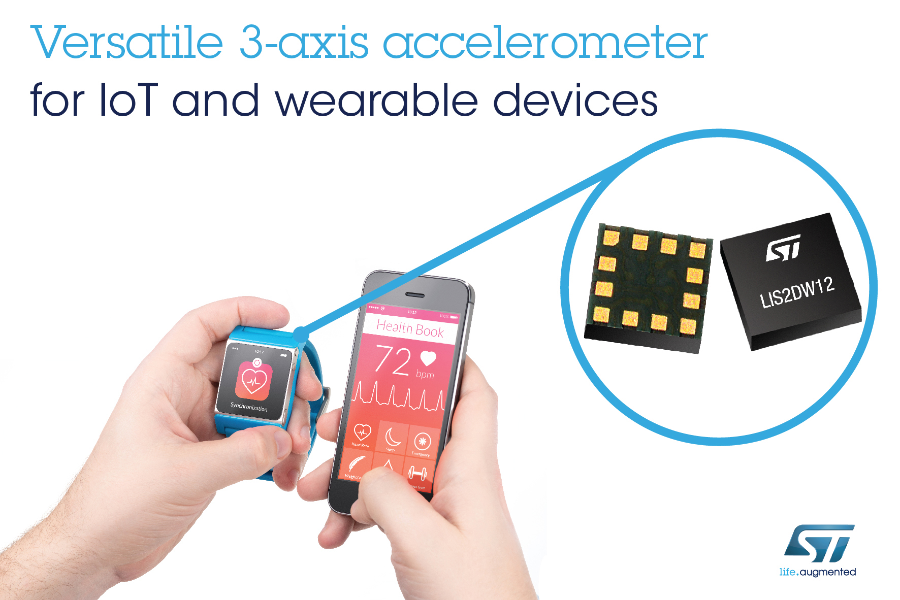 Versatile Accelerometer from STMicroelectronics Delivers Class