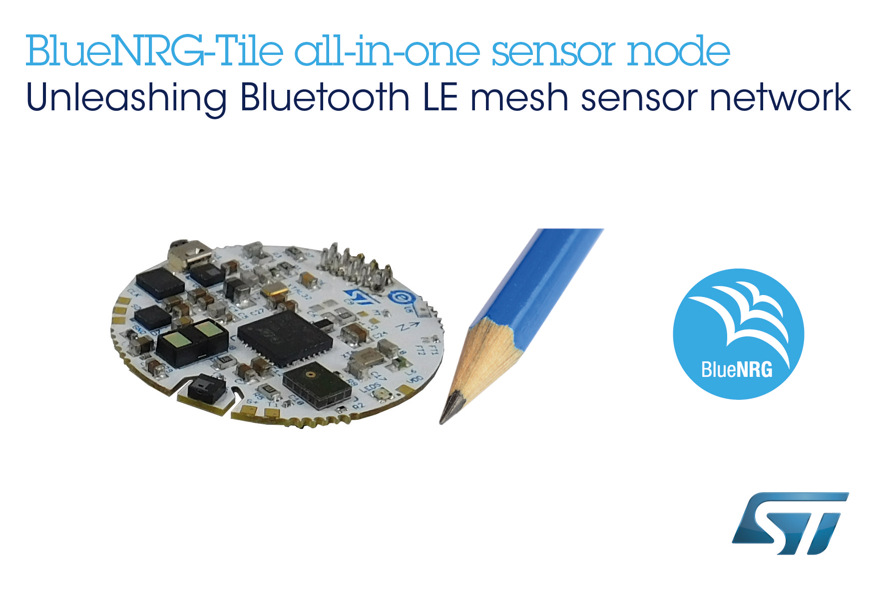 Tiny Coin-Shaped Development Kit from STMicroelectronics Delivers