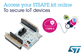 Secure-Element Evaluation Kit from STMicroelectronics Comes with Ready-to-Use Software for IT and IoT Applications