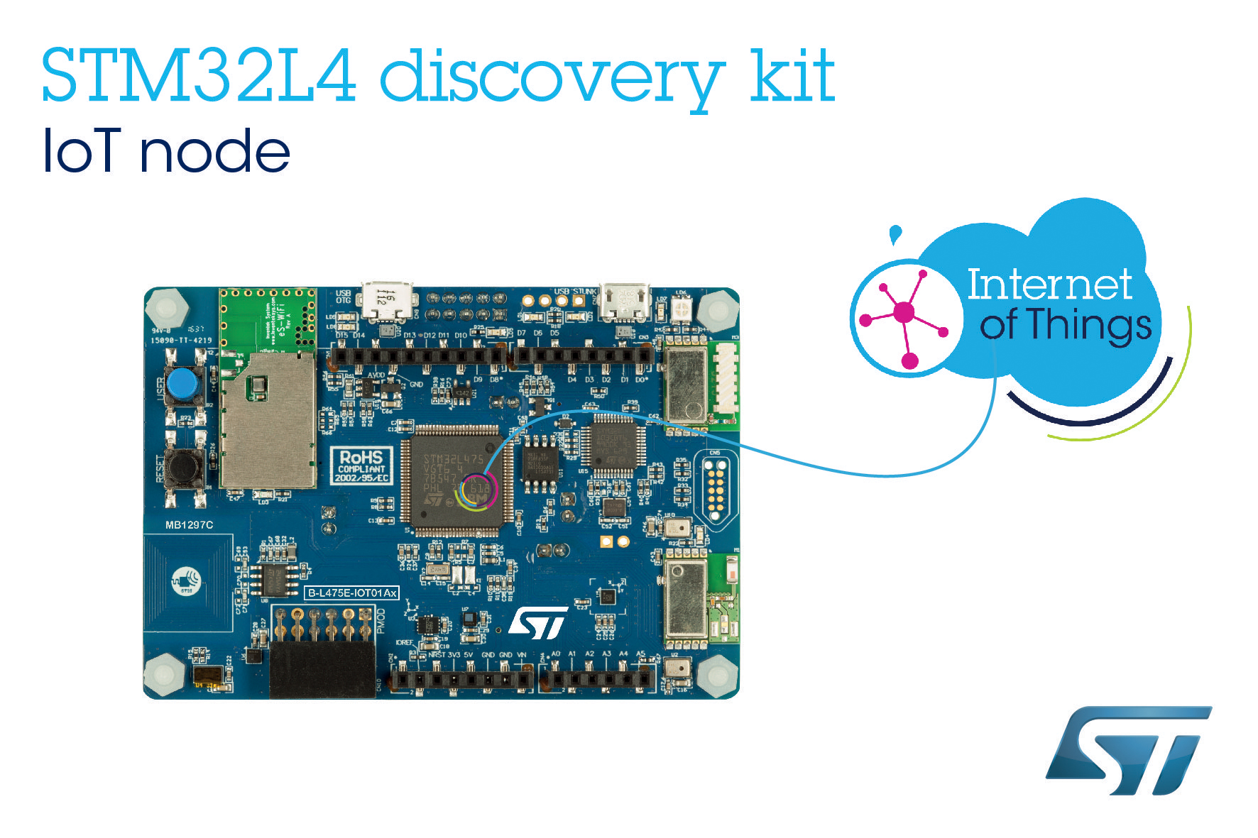 Affordable STM32 Cloud-Connectable Kit from