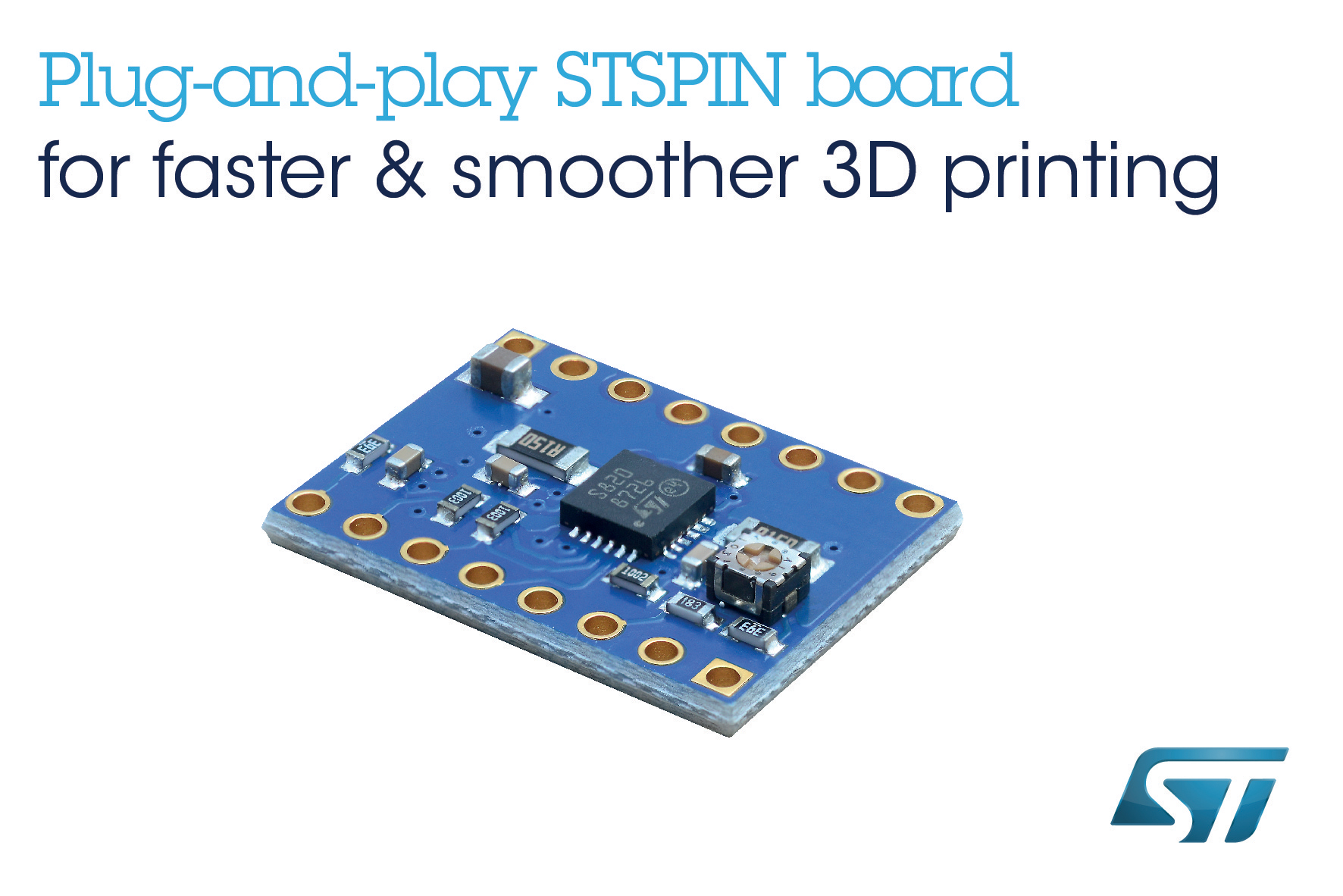 High Speed Resolution Motor Driver Board From Printed Circuit Printer Stmicroelectronics Maximizes Open Source 3d Performance