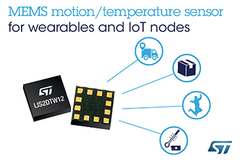 MEMS Chip Combines Accelerometer with High-Accuracy Temperature Sensor for Superior Precision