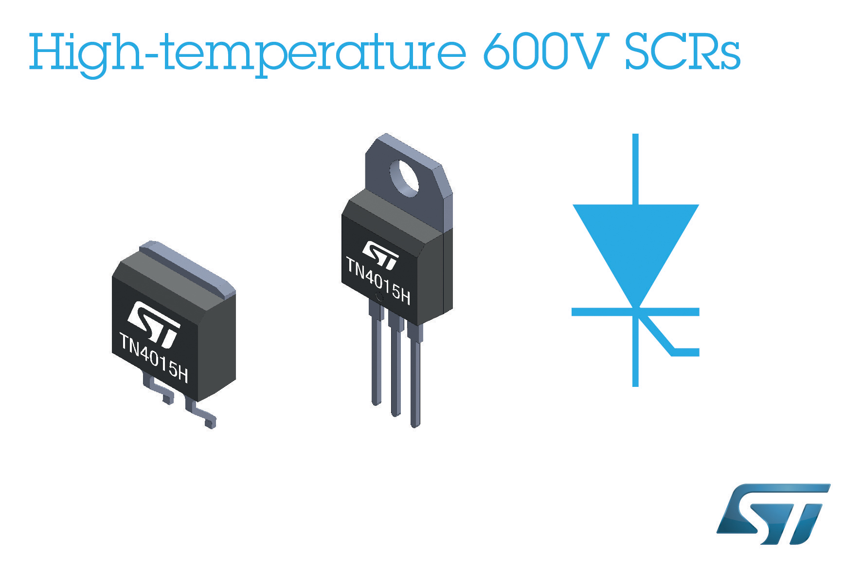 High Temperature Silicon Power Switches From Stmicroelectronics Solid State Relay Circuit Further Clock Pulse Generator Enhance Reliability In Motorcycles And Industrial Applications