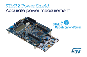 STMicroelectronics' STM32 Power Shield: EEMBC™-Approved Power-Monitoring Technology for Energy-Critical Embedded Development