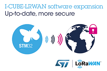 STMicroelectronics Updates Free Embedded Software for Enhanced LoRaWAN Experience