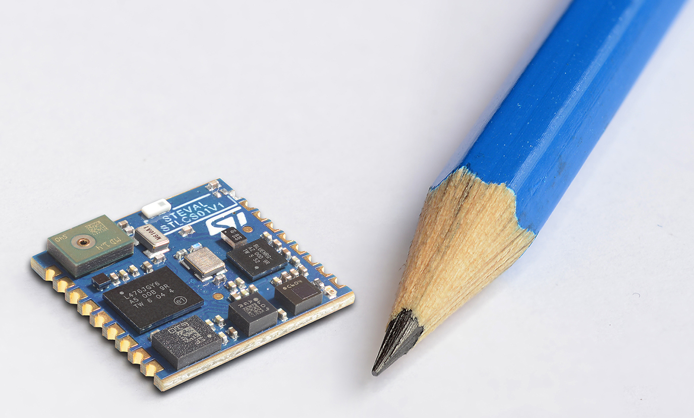 Miniature Multi Sensor Module From Stmicroelectronics