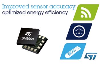 Always-On Inertial Measurement Unit from STMicroelectronics Improves Accuracy, Optimizes System Power