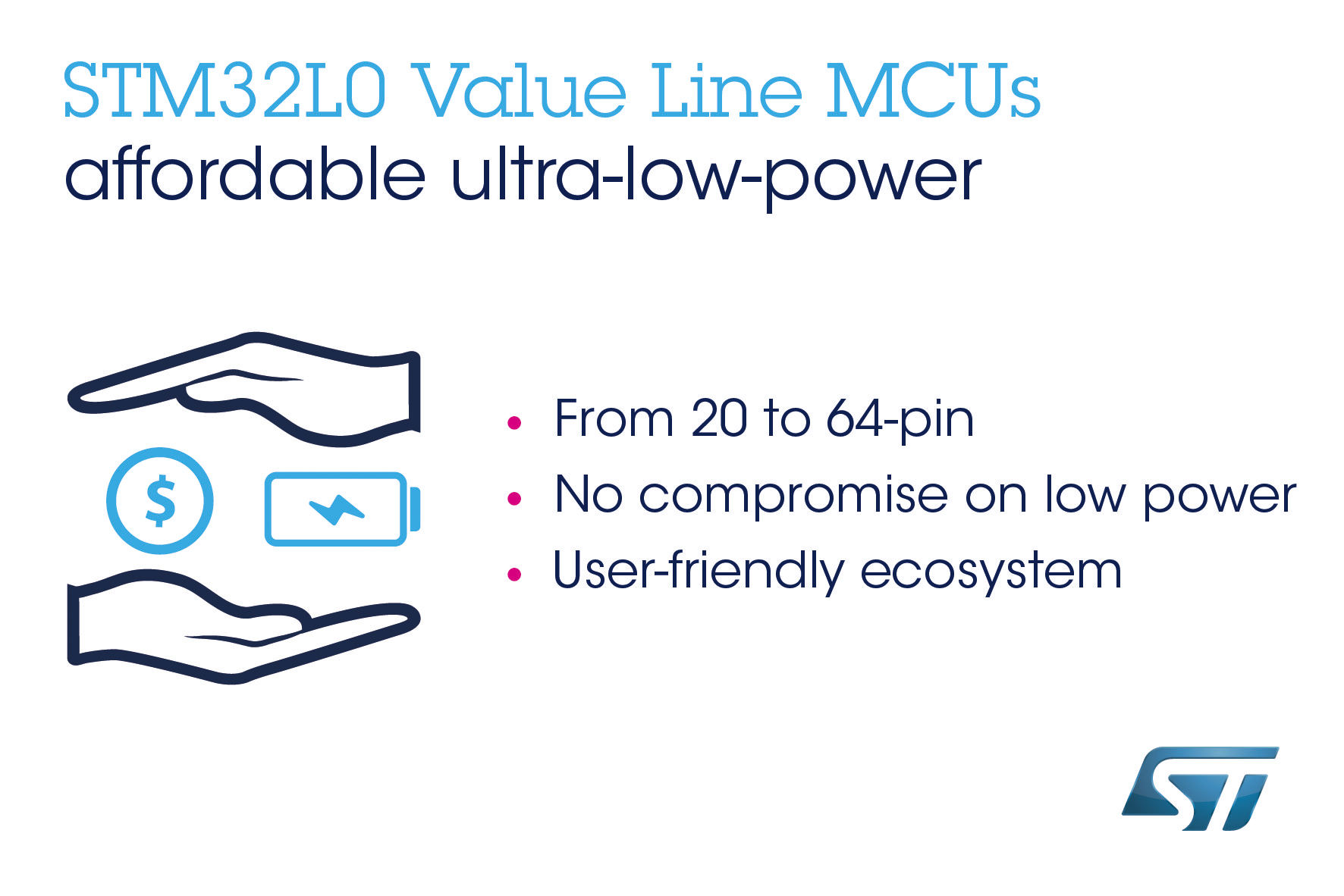 STMicroelectronics Makes Leading Ultra-Low-Power MCU Family Even