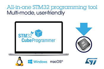New All-in-one Software Tool from STMicroelectronics Makes STM32 Microcontroller Programming More User-Friendly
