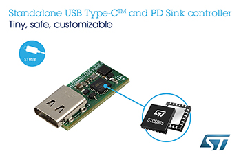 Standalone USB Type-C Power Delivery Controller from