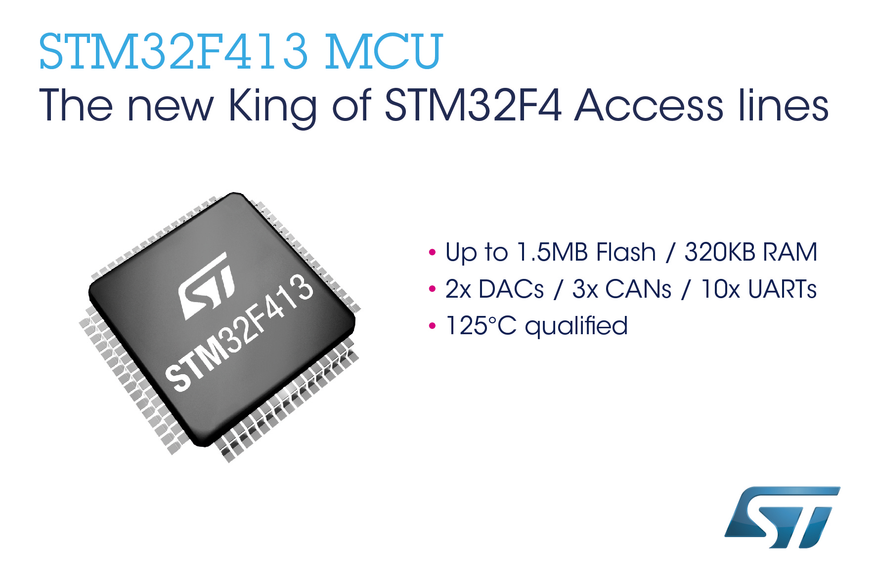 STMicroelectronics Extends Feature Integration and