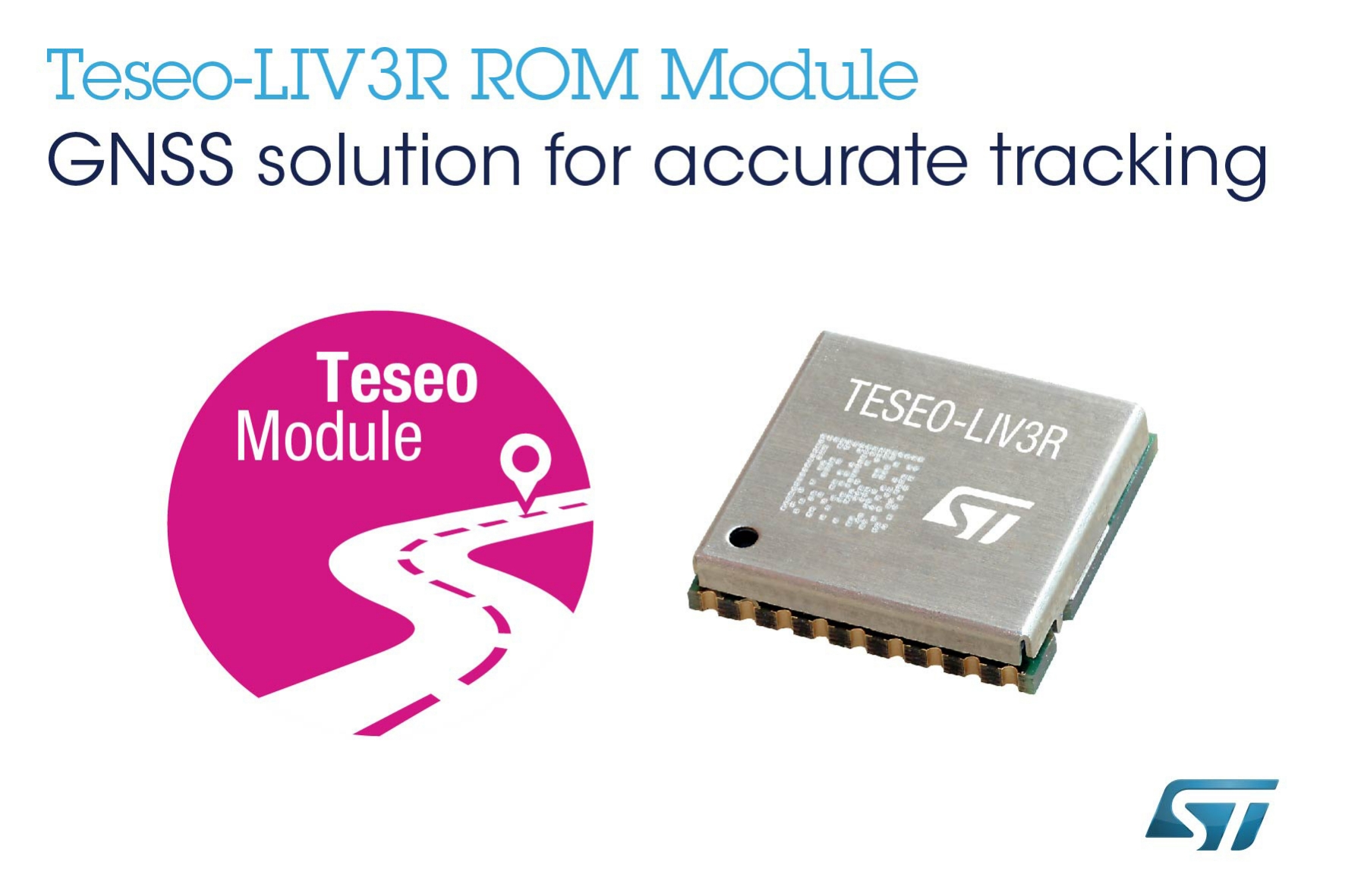 ROM-Based GNSS Module from STMicroelectronics Targets Mass