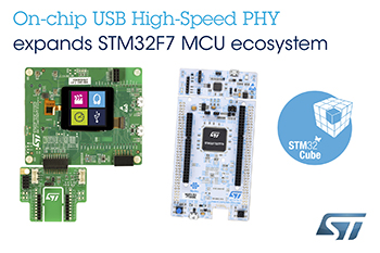 STMicroelectronics Extends Flexibility of STM32 Ecosystem with Latest STM32F722 Nucleo board and STM32F723 Discovery kit