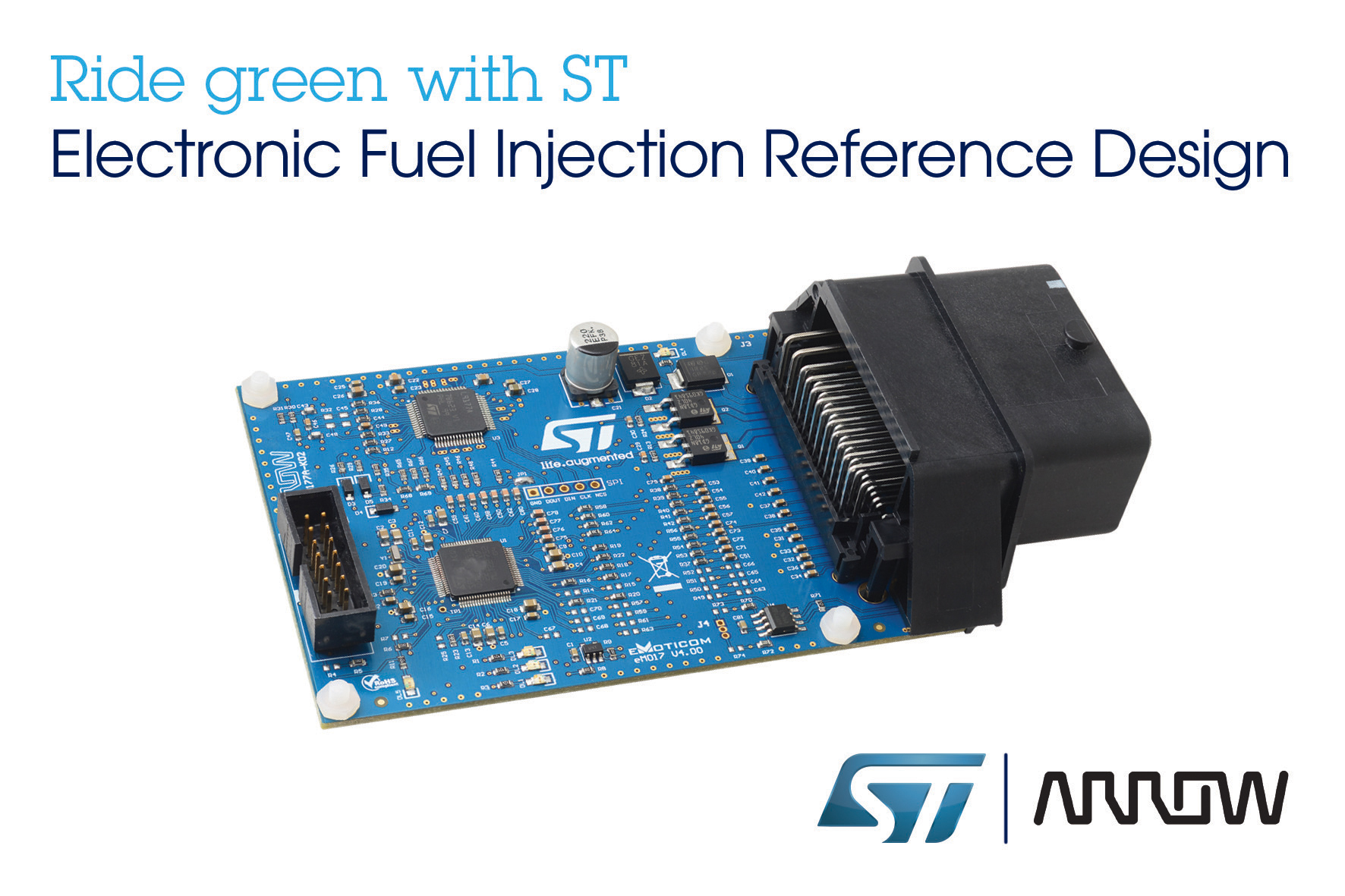 STMicroelectronics Teams with Arrow Electronics to Provide