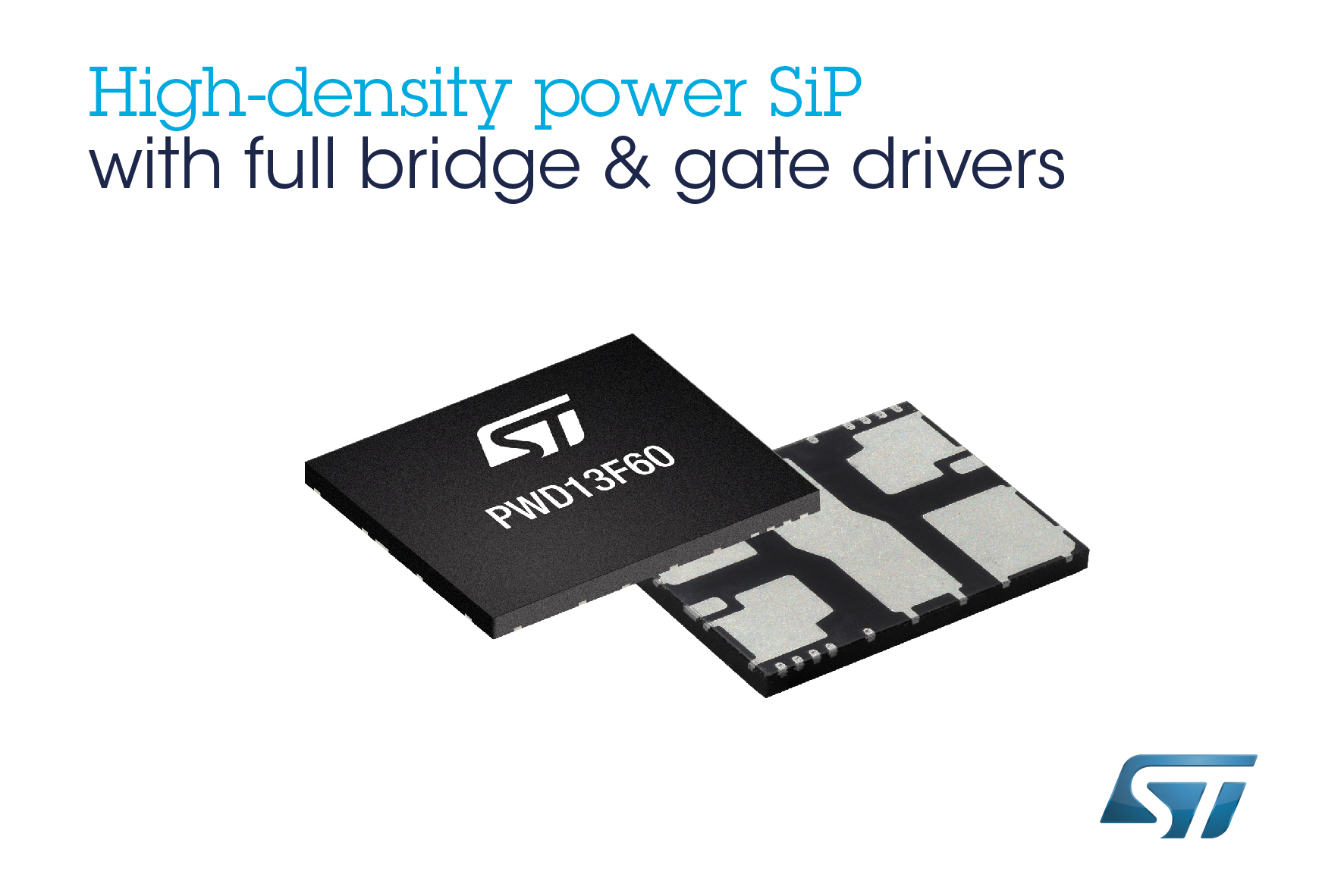 Complete Full-Bridge System-in-Package from STMicroelectronics