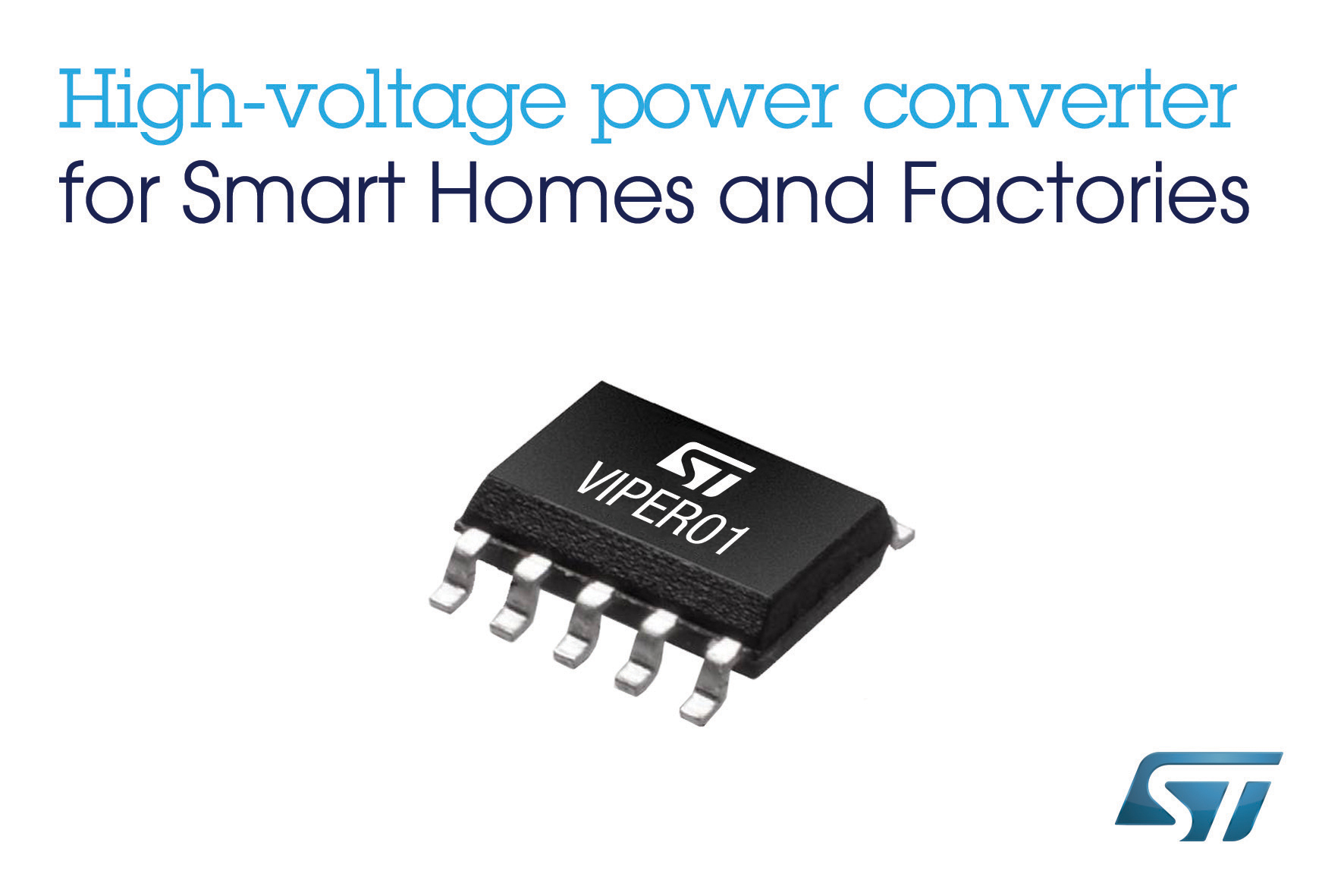 High Voltage Converter From Stmicroelectronics Enables Ultra Low Power Supply Tutorial Smps Consumption Supplies In Smart Home And Industrial Applications
