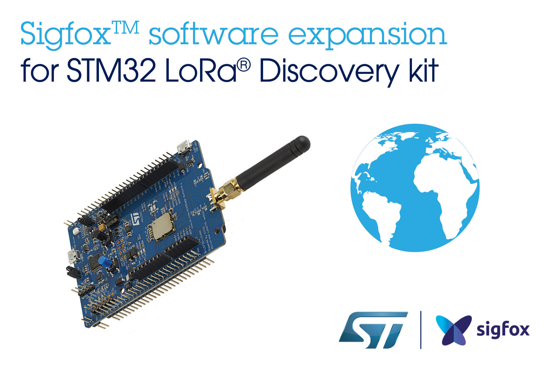 STMicroelectronics' Sigfox™ Embedded Software for STM32