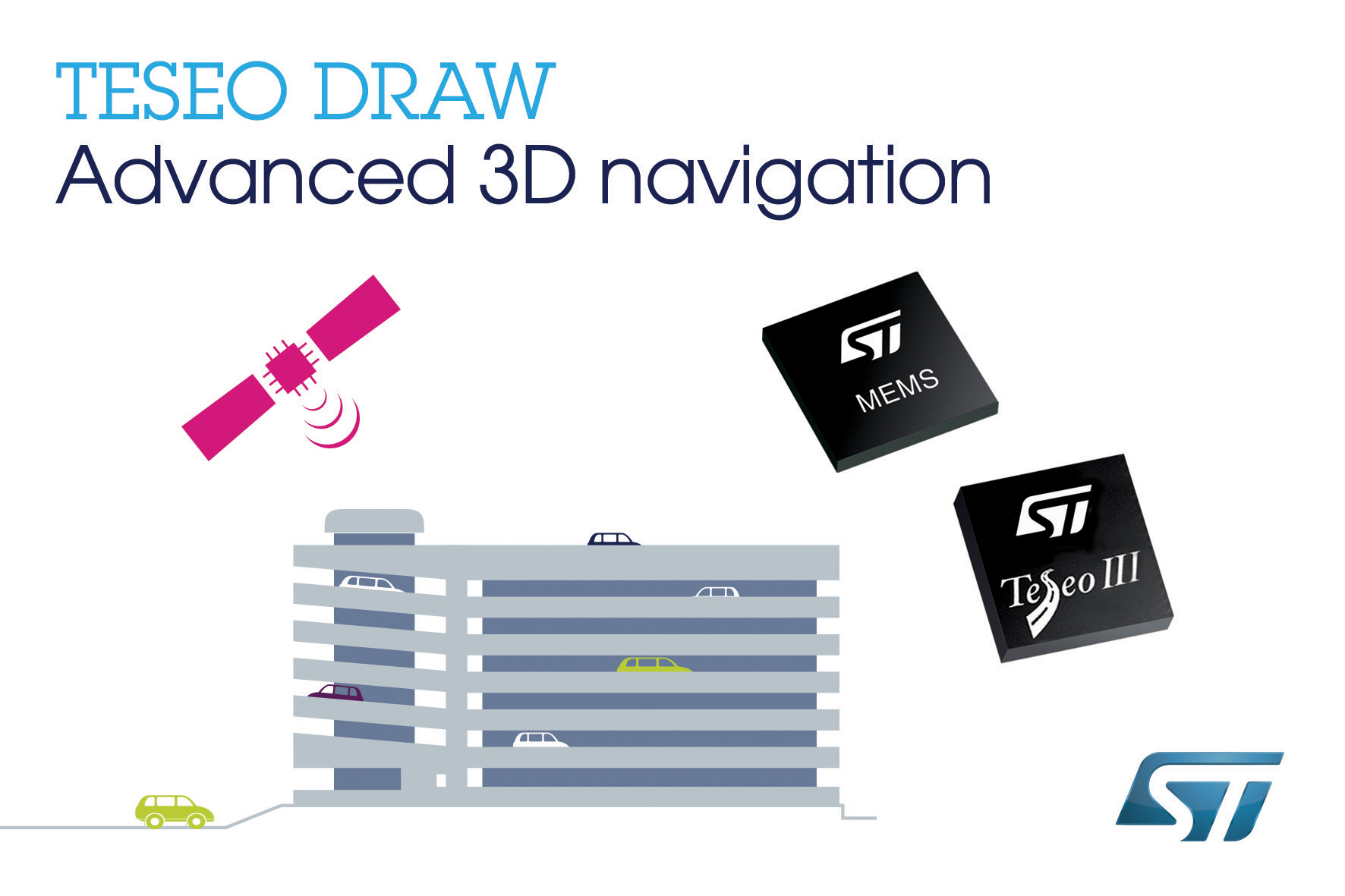 STMicroelectronics Drives the Pace of Sat-Nav Progress with Enhanced