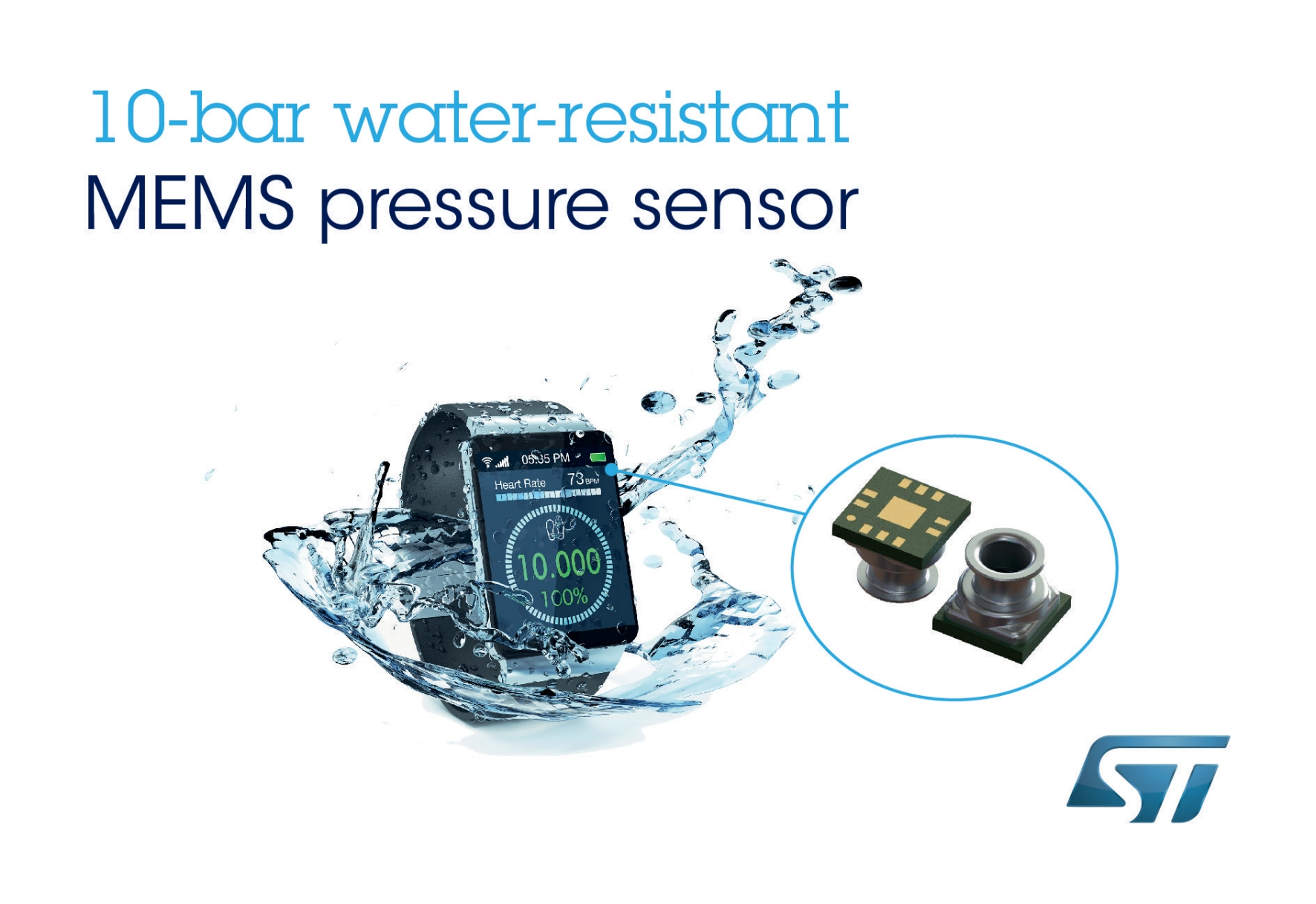 Stmicroelectronics announces class leading water resistant
