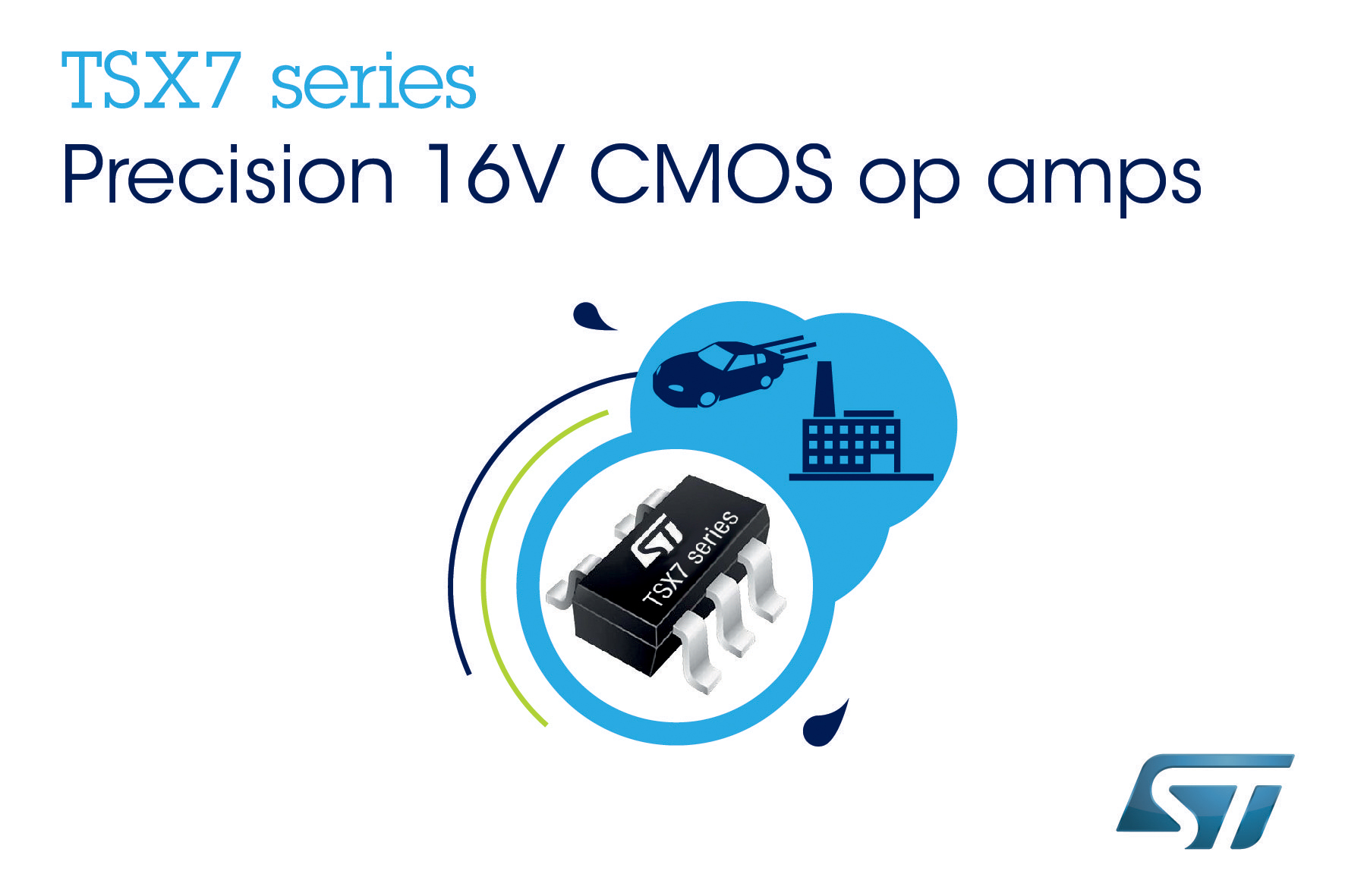 Precision 16v Op Amps From Stmicroelectronics Eliminate Post Instrumentation Amplifier With Cmrr Calibration Assembly Trimming