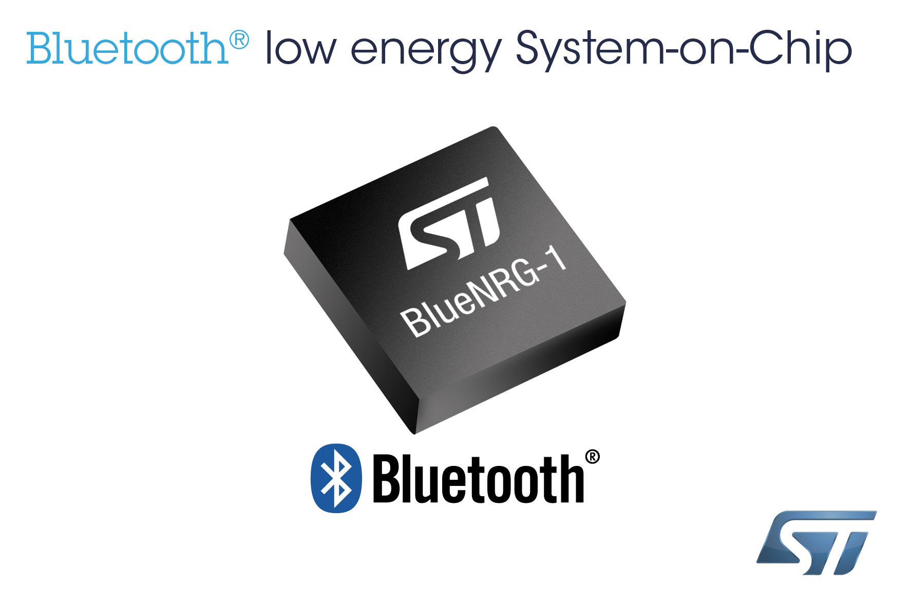 STMicroelectronics Introduces New Bluetooth® Low Energy Single-Chip