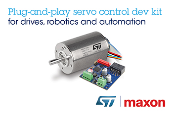 STMicroelectronics and maxon Collaborate on Precision Motor Control for Robotics and Automation