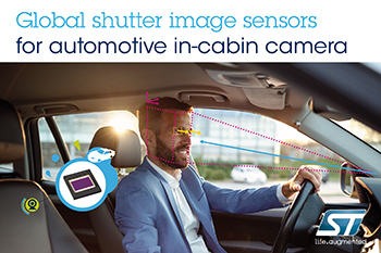 STMicroelectronics' Advanced Image Sensors Enhance Driver Monitoring in Next-Generation Automotive Safety Systems